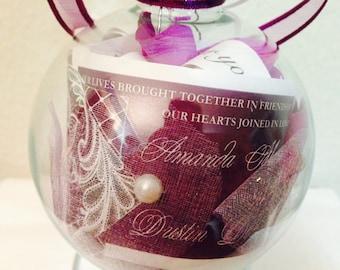 Personal Wedding Ornament