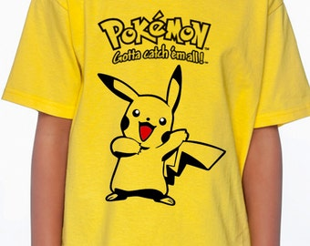 Pokemon Pikachu shirt