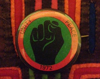 Vintage Black Panther Party Button
