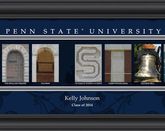 Penn state alumni etsy for Penn state decorations home