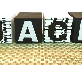 Tribal name blocks