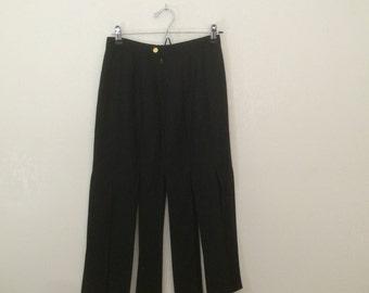 FRINGE Skirt / Lavantino skirt / Black skirt / Pleated skirt / Long Skirt 90s
