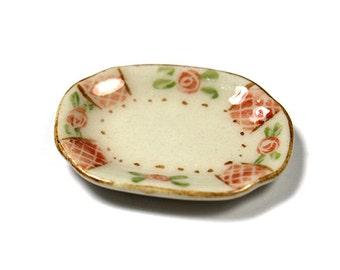 Miniature Porcelain Platter Plate - Small