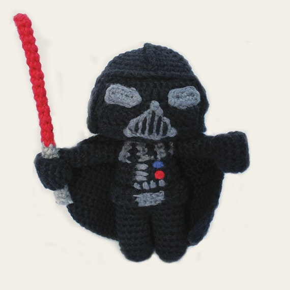 Darth Vader - Star Wars. Amigurumi Pattern PDF.