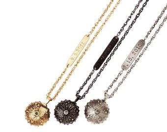 Long Sea Urchin Necklace