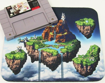 Chrono Trigger Kingdom of Zeal SNES Retro Mousepad.