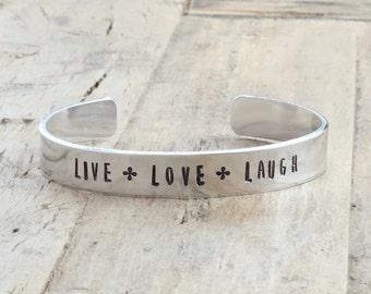 Live Love Laugh Bracelet