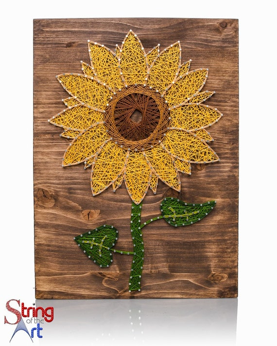 Sunflower String Art Kit Diy Kit Adult Crafts