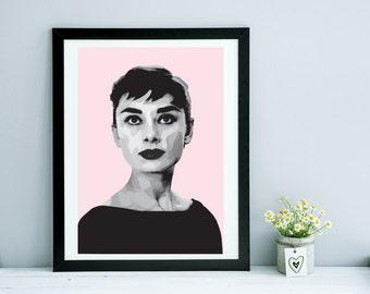 Audrey Hepburn I A5 A4