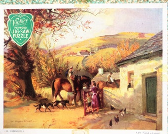 Victory jigsaw puzzle, country farm scene