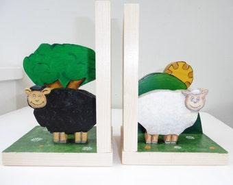 Irish Sheep Bookends