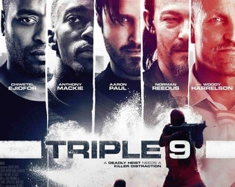 Triple 9 2016 Movie Poster 42''