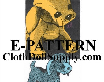 E-Pattern – Playful Pup Sewing Pattern #EP 538