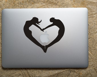 Love Apple Stickers Decal for IPhone, IPad, MacbooK