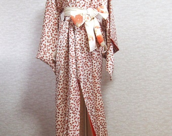 kimono robe/kimono dress/traditional wear/robe/flower