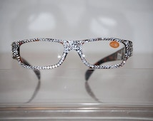 1.50  Beautiful Swarovski Crystal Reading Glasses FREE SHIPPING