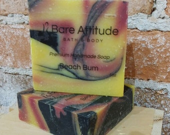 Beach Bum Olive Oil Soap Bar (Vegan, Palm Free)
