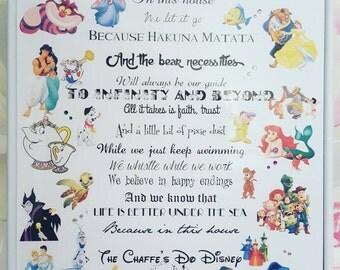 We Do Disney print
