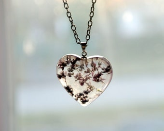 eco resin necklace