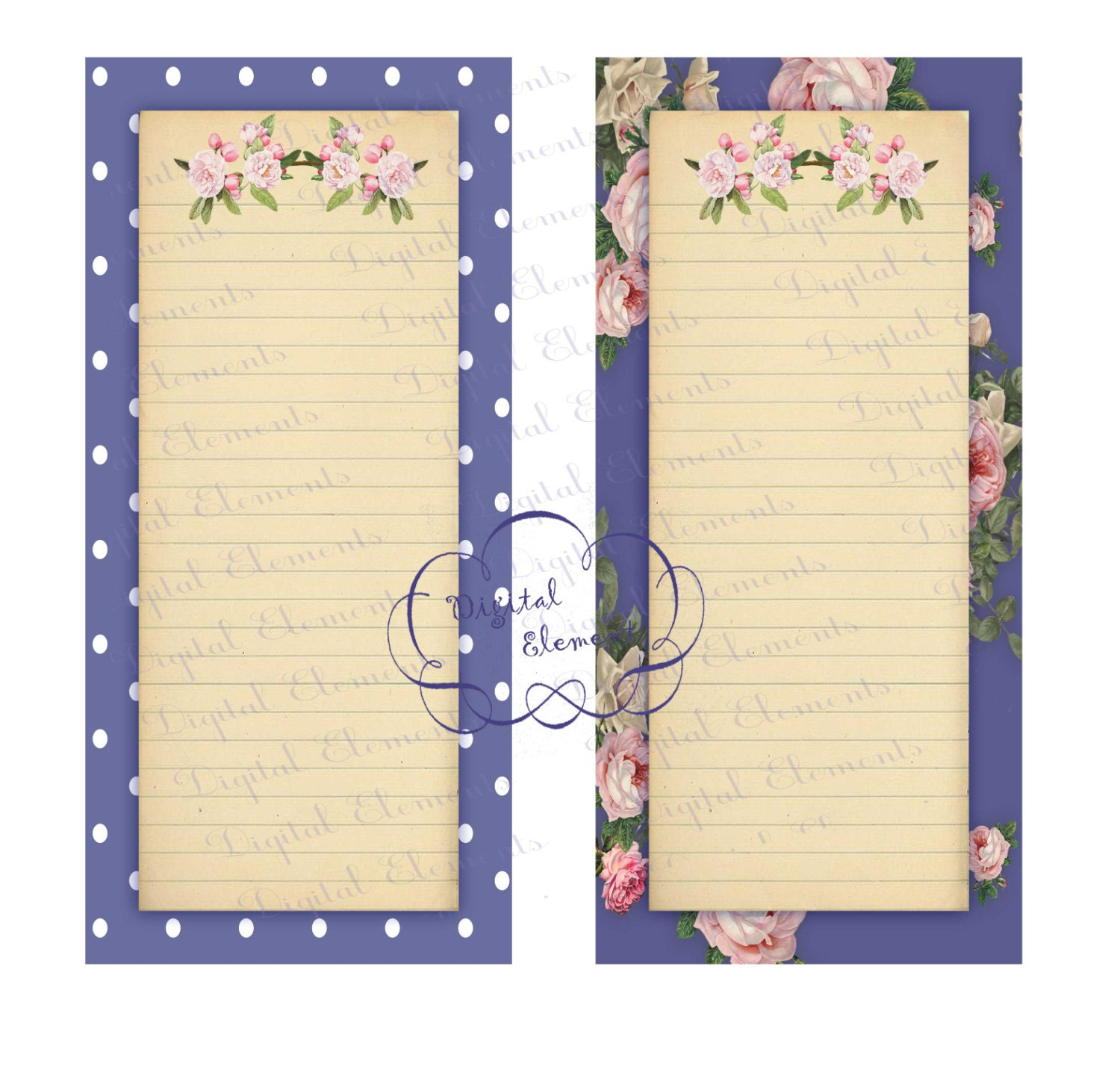 Scrapbook paper note - This Is A Digital File