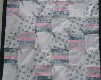Baby Blanket Pieced Patchwork Flannel