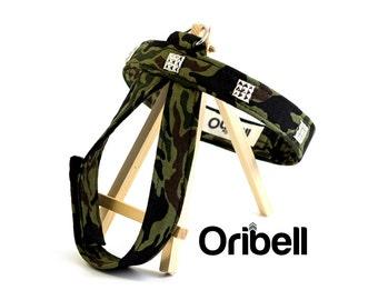 Camouflage dog harness