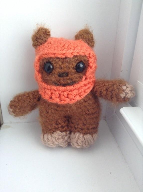 Ewok Crochet Amigurumi : Free shipping Ewok amigurumi from Star Wars Crochet by ...