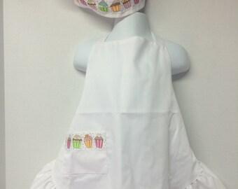 Custom Child's Chef Apron with Hat