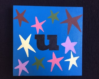 Initial Painting #U2