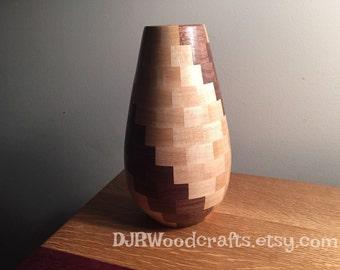 Decorative segmented vase