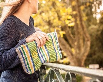 Woven pouch Brazil / weaved brasilian wallet