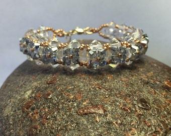 Swarovski beaded bracelet