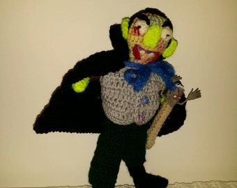 Crochet Halloween Monster