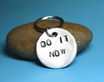 Custom gift, Hand stamped gift, Hand stamped jewelry, Hand stamped Keyring, Handstamped jewelry, Christmas, Key chain, Key ring, Inspiration