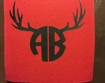 Personalized antler can cooler
