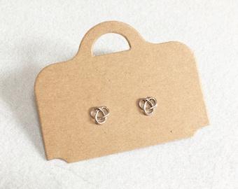 Trinity Earrings ~ Silver/Gold