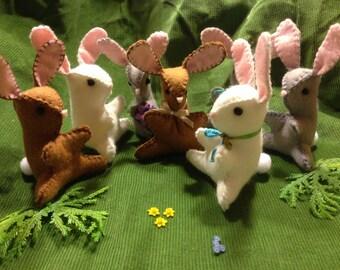 Felty Spring Bunnies
