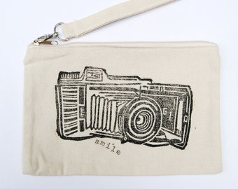 Vintage Kodak Camera zipper pouch
