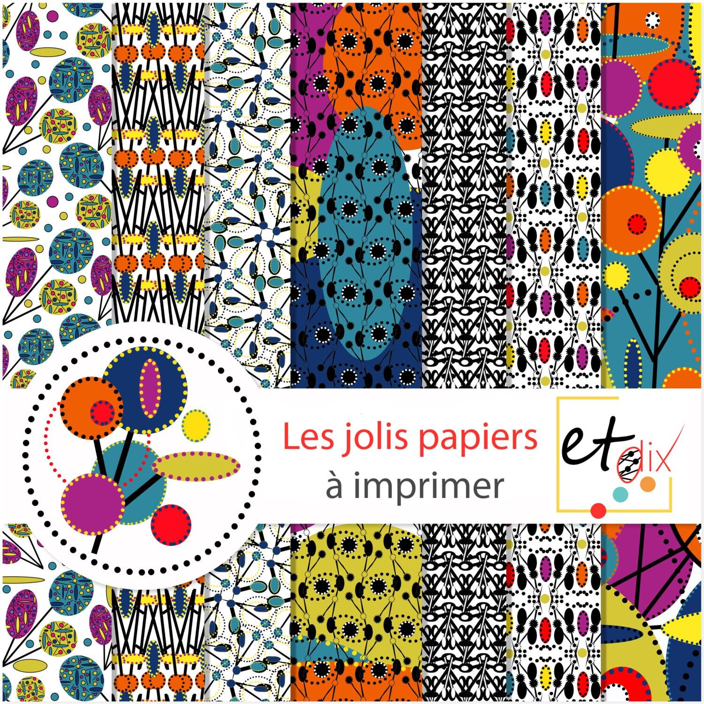 Set de papiers origami et scrapbooking motifs africains - Motifs africains maternelle ...