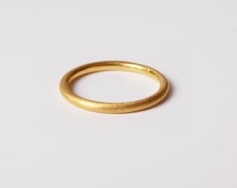 """Gold """"Diamond"""" ring"""