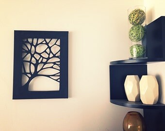 Cut Canvas Art - Tree