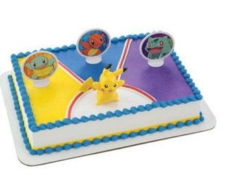 Pokemon Light Up Pikachu Cake Topper