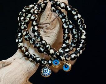 Good Luck Eye Charm Bracelets
