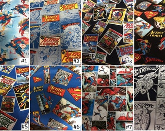 Custom Superman Messenger Bag: Made to Order; You pick the fabric