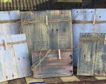 Rustic Recycled Wood Frames