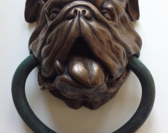 English Bulldog doorknocker