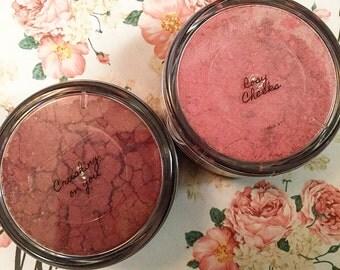 Loose powder all natural blush