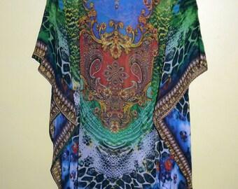 Kaftan Gowns Bridesmaid Maxi Dress Women Caftan Ladies Beautiful print