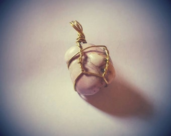 Wire Wrapped Power Stone