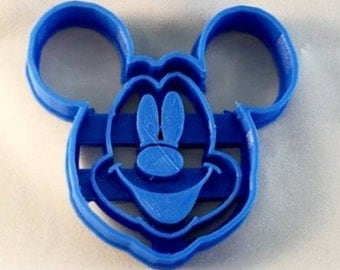 Disney Mickey Mouse Cookie Cutter and Fondant Cutter,Disney Cookie Cutter, Party Supply,Birthday, Party,Children Party, Child Party
